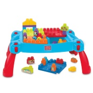 Mega Bloks First Builders Build 'n Learn Table