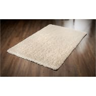 Inspire Plush Rug 60 x 110cm - Cream