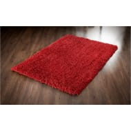 Inspire Plush Rug 60 x 110cm - Red