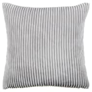 Bubble Rib Cushion Covers 2pk - Silver