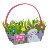 Felt Easter Basket - Rabbit