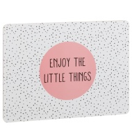Stylish Placemats 4pk - Enjoy the Little Things