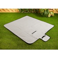 Fleece Picnic Blanket - Geo