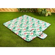 Fleece Picnic Blanket - Tropical