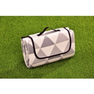 Fleece Picnic Blanket - Geometric