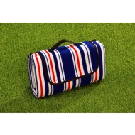 Fleece Picnic Blanket - Stripe