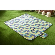 Fleece Picnic Blanket 130 x 150cm - Leaf