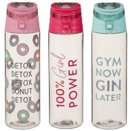 Sports Bottle 700ml - Detox, Detox, Donut