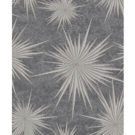Crown Quantum Star Wallpaper - Pewter