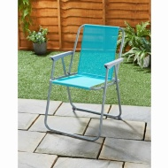 Garden Contract Chair - Blue