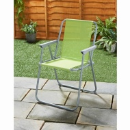 Garden Contract Chair - Lime