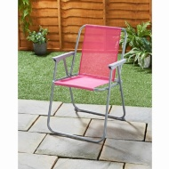 Garden Contract Chair - Pink