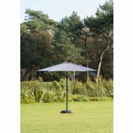 Crank Handle Parasol 2.7m - Grey