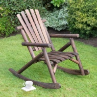 Wooden Rocker Chair