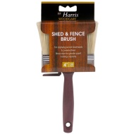Harris Shed & Fence Brush 4""