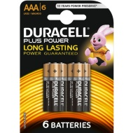Duracell Plus Power AAA Batteries 6pk