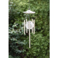 Signature Solar XL Deluxe Crackle Ball Windchime