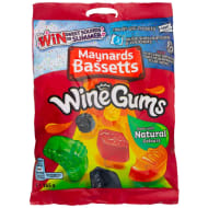 Maynards Bassetts Wine Gums 165g