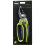 Rolson Deluxe Secateurs - Green