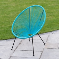 String Moon Chair - Bright Blue