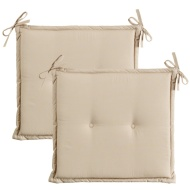 Luxury Seat Pads 2pk - Taupe