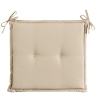 Luxury Seat Pads 2pk - Cream
