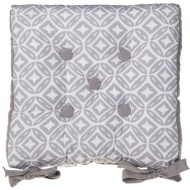 Luxury Seat Pad - Grey Geo