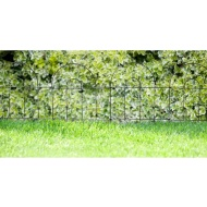 Heavy Duty Arched Metal Fencing 6pk