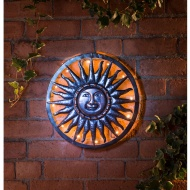 Solar Sun Metal Wall Art