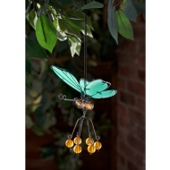 Springy Glow in the Dark Butterfly Hangers - Amber