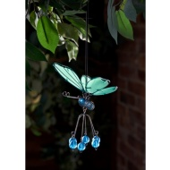 Springy Glow in the Dark Butterfly Hangers - Blue