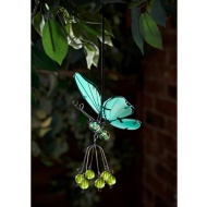 Springy Glow in the Dark Butterfly Hangers - Green