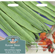 Runner Bean Butler Stringless Seeds