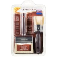 Turner & Gray Timbercare Brush Set 4pk