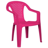 Kids Stacking Chair - Pink