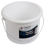 Turner & Gray Plastic Paint Can 2.5L