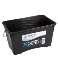 Turner & Gray Plastic Paint Scuttle Bucket 15L