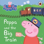 Peppa Pig Board Book - Peppa and the Big Train