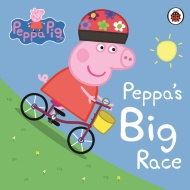 Peppa Pig Board Book - Peppa's Big Race