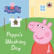 Peppa Pig Board Book - Peppa's Washing Day