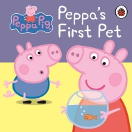 Peppa Pig Board Book - Peppa's First Pet