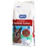 RSPCA Senior Dry Dog Food - Light 2kg