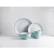 Duck Egg & White Dinner Set 16pc