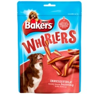 Bakers Whirlers - Tasty Bacon & Cheese Flavour 175g