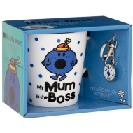 Little Miss Mug & Trolley Coin - Little Miss Bossy