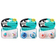 Tommee Tippee Soothers 2pk