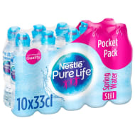 Nestle Pure Life Still Spring Water 10 x 330ml