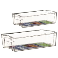 Fridge Storage Tray - 37 x 21.5 x 10cm