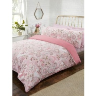Metallic Paisley Double Duvet Set