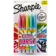 Sharpie Color Burst 5pk